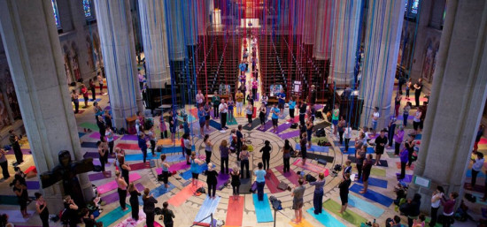 Yoga on the Labyrinth - not just another yoga class - Action PR