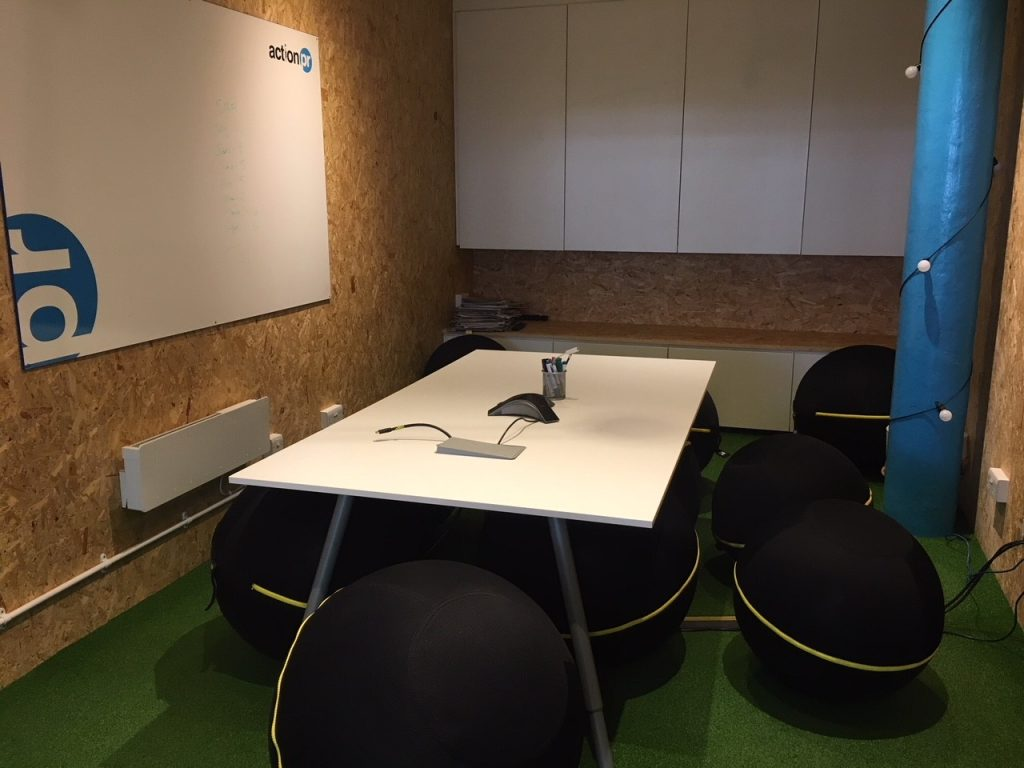 Action PR meeting room