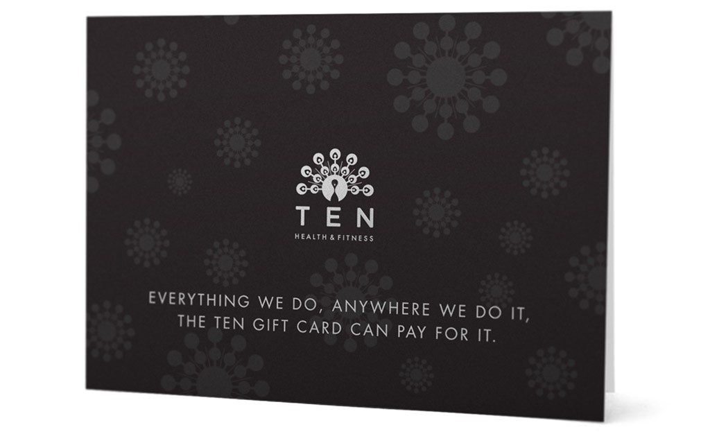 Ten Health and Fitness Gift Cards
